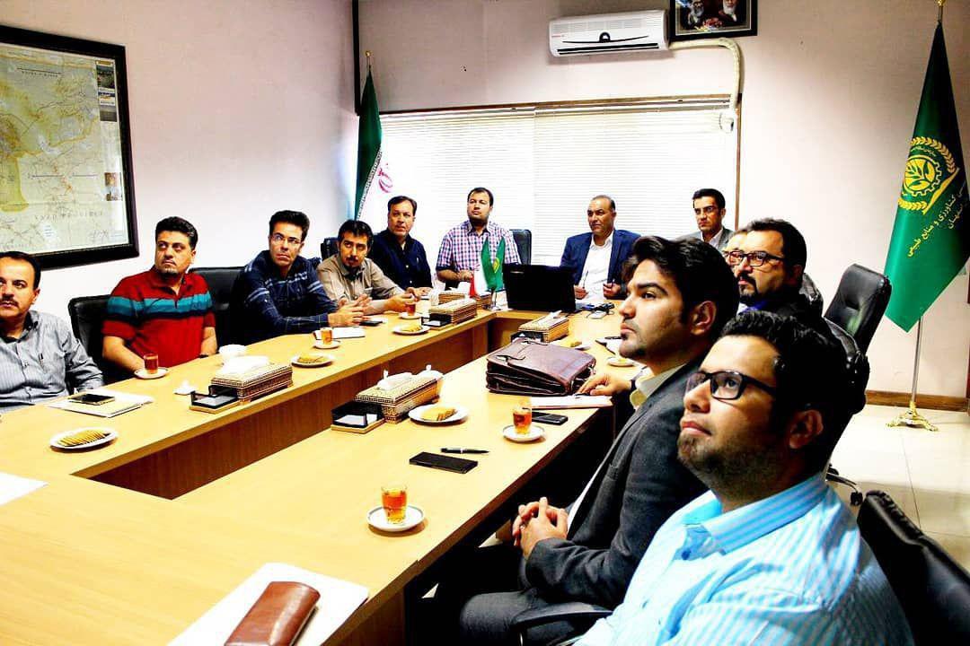 برگزاری جلسه کارگروه دامپروری استان در سازمان