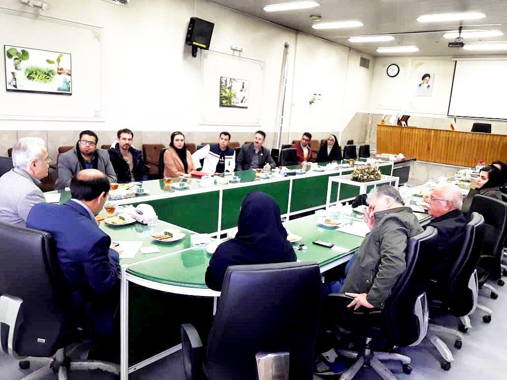 دیدار با مدیر کل امور فناوري سازمان تحقيقات، آموزش و ترويج كشاورزي وزارت