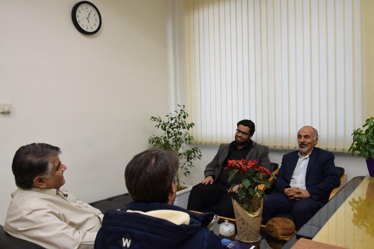 دیدار هیئت مدیره با ریاست شهرک علمی تحقیقاتی اصفهان