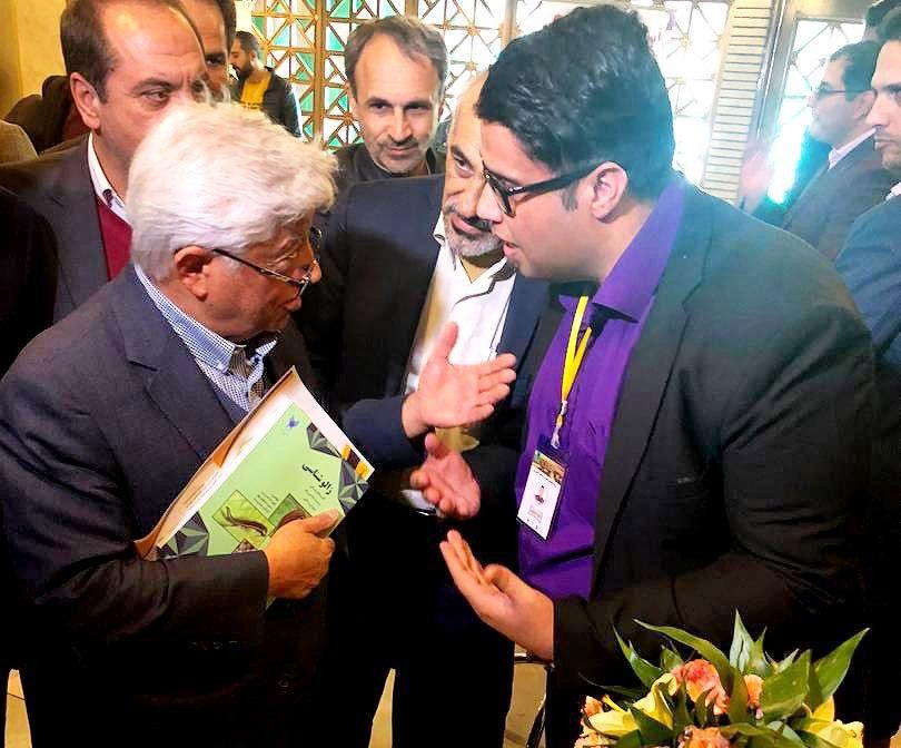 دیدار با جناب اقای دکتر عباس کشاورز وزیر  محترم جهاد کشاورزی کشور